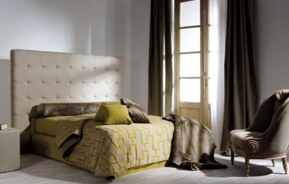 boutique literie dosseret capitonnee mont blanc trump home t te. Black Bedroom Furniture Sets. Home Design Ideas