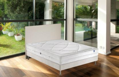 Boutique literie literie cross 1102 visco merinos matelas - Merinos cross system ...