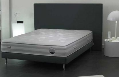 boutique literie literie chrome simmons matelas et sommier. Black Bedroom Furniture Sets. Home Design Ideas